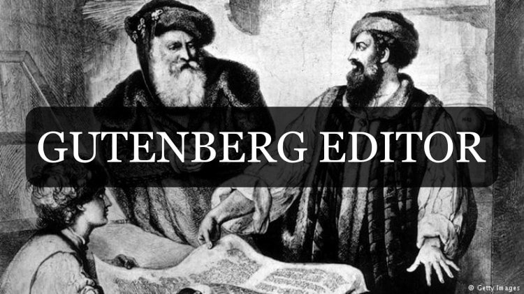 Read more about the article The New Gutenberg Editor