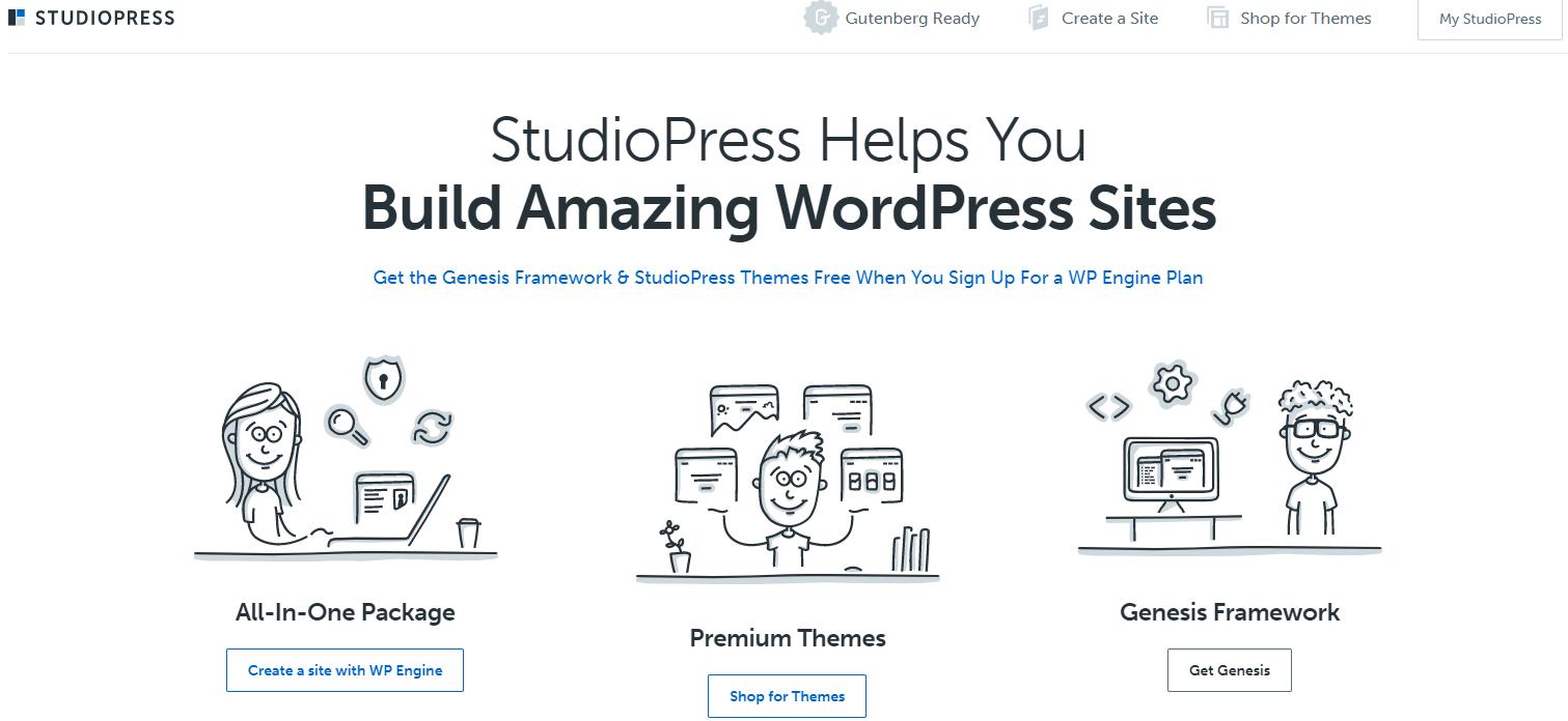 Studiopress genesis theme
